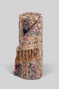 tapis boucherouite vintage coloré